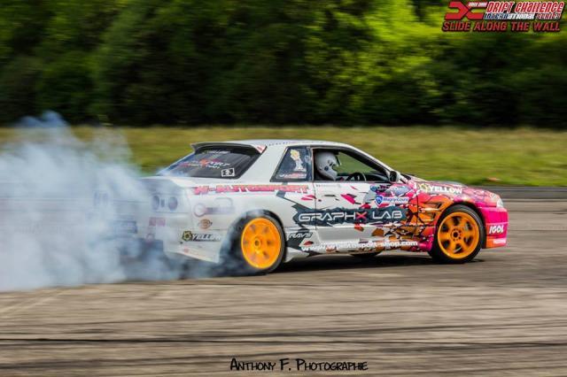 Test du tracé du Drift Challenge dans les Ardennes