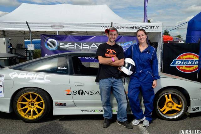 Audrey Meynard et son coach Nicolas Cerdan