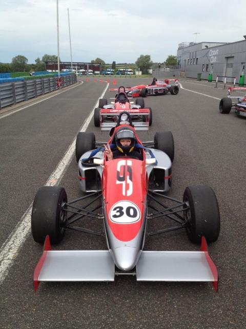 premier essais en F3 !