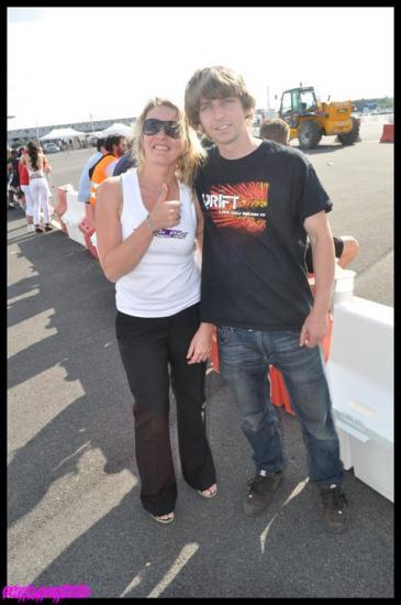 Chris DeJager / grand pilote de drift Australien