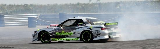 William Laurette et sa Nissan Silvia PS13