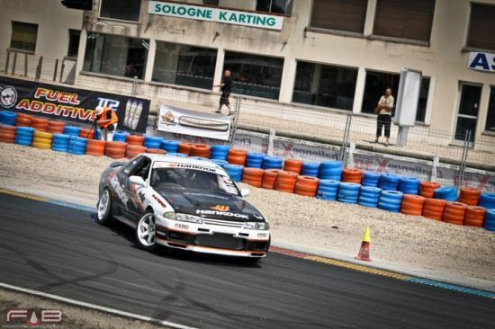 Drift Challenge 2011 - round 1 - circuit de Salbris
