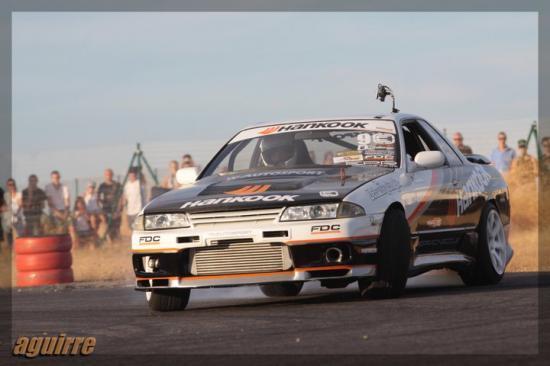 photo de Aguirre lors du round 3 au Roussillon Motor Show