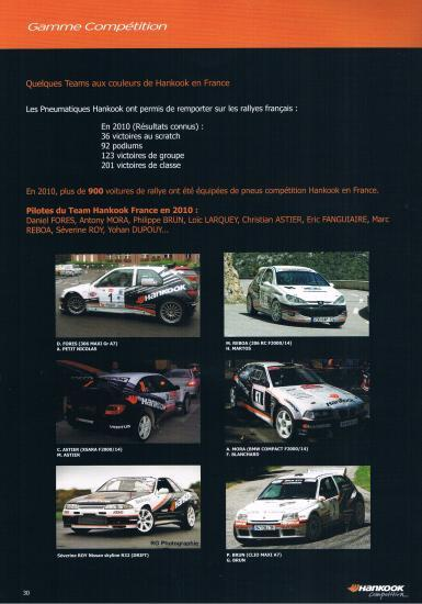 Catalogue Hankook 2011