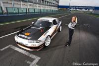 shooting de Etienne Crebessegues pour le magazine Maxi Tuning sur le circuit F1 de Magny Cours
