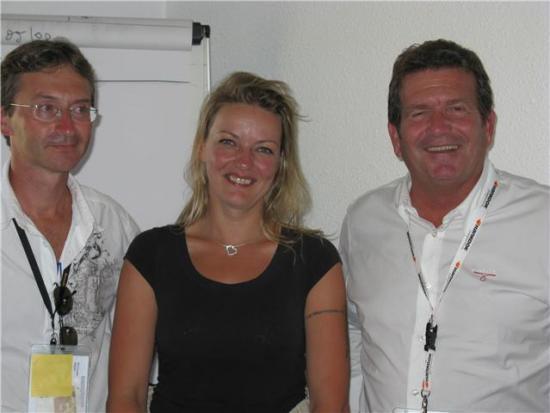 Mr le Maire de Chamrousse et Pierre Grig ( une bien belle rencontre )