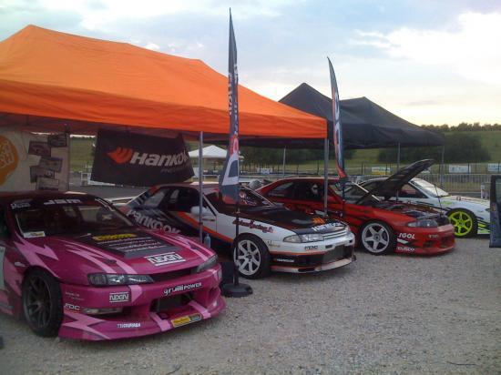 stand Drift Système pour le round 3 au Roussillon Motor Show