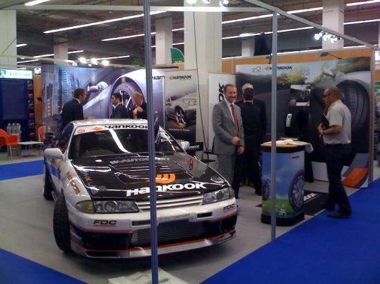 Salon Auto Leclerc 2011 - Stand Hankook