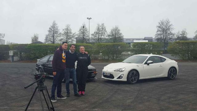 TOURNAGE M6 TURBO - TEST TOYOTA GT86 EN DRIFT