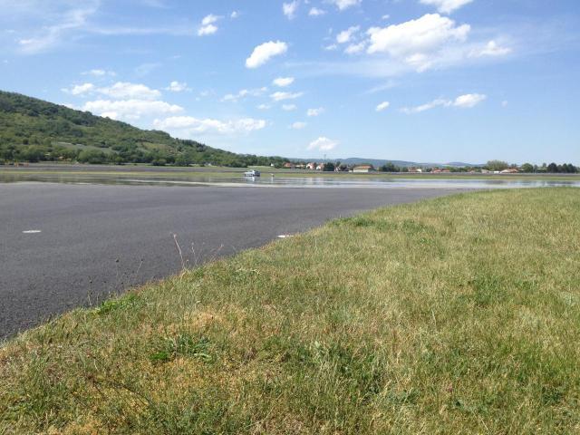 essais dérive sur l'ovale du Circuit de Ladoux