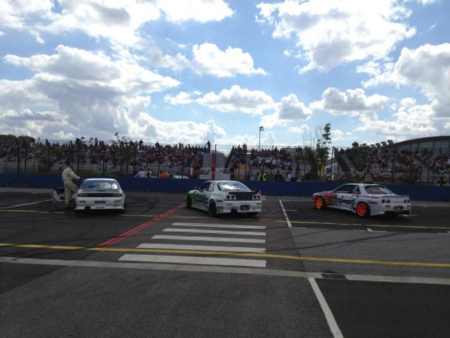 Démo pour l'Euro Race Car sur l'ovale de Tours
