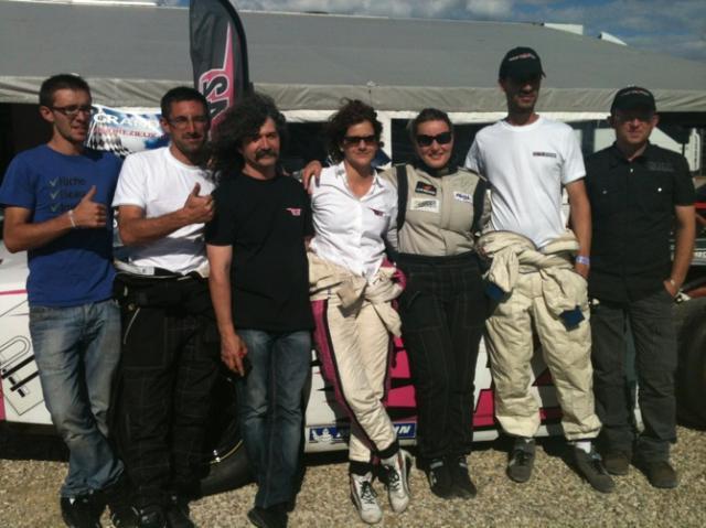 avec notre pilote de Race Car favorite, Carole Perrin !