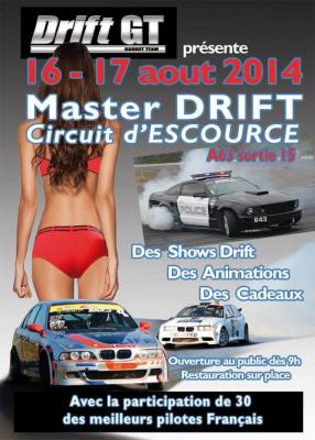 Affiche Master Drift Escource